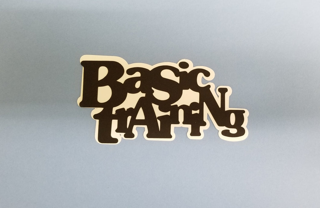 Basic Training Die Cut