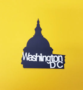 Washinton DC Die Cut