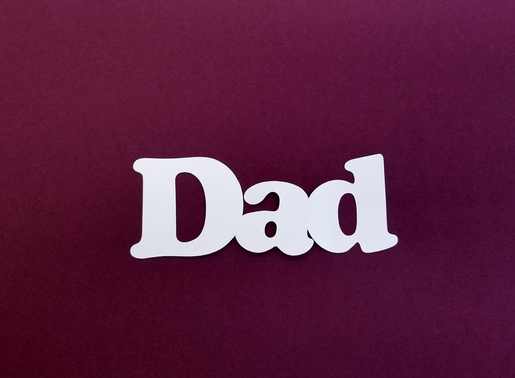 Dad Die Cut
