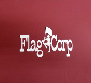 Flag Corp Die Cut