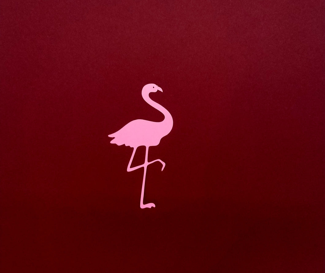 Flamingo Die Cut