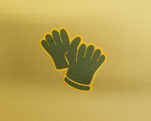 Garden Gloves Die Cut