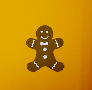 Gingerbread Man Die Cut