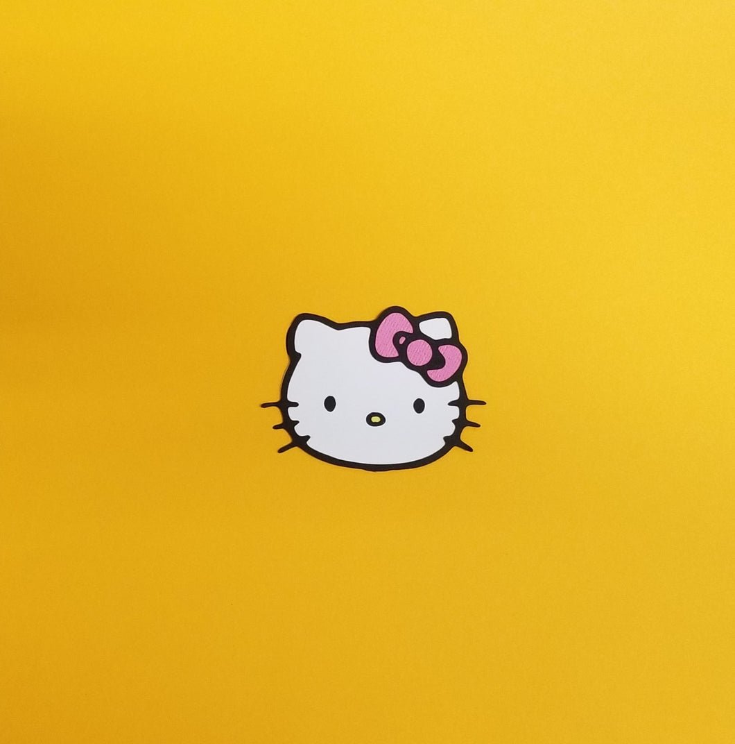 Hello Kitty Die Cut