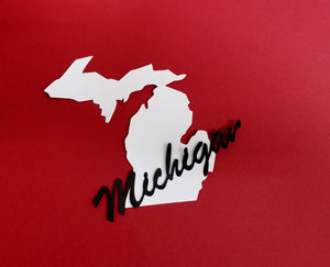 Michigan Die Cut