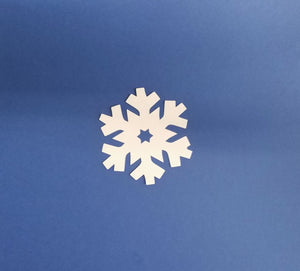 Snow Flake Die Cut