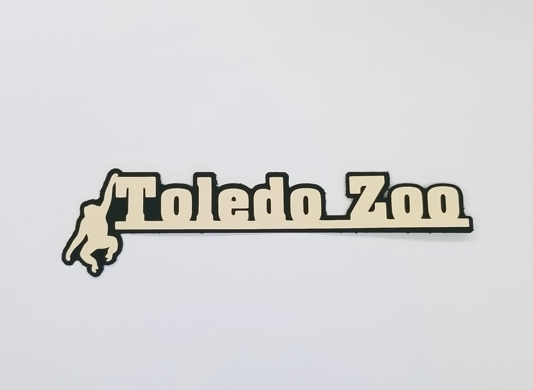 Toledo Zoo Monkey Die Cut