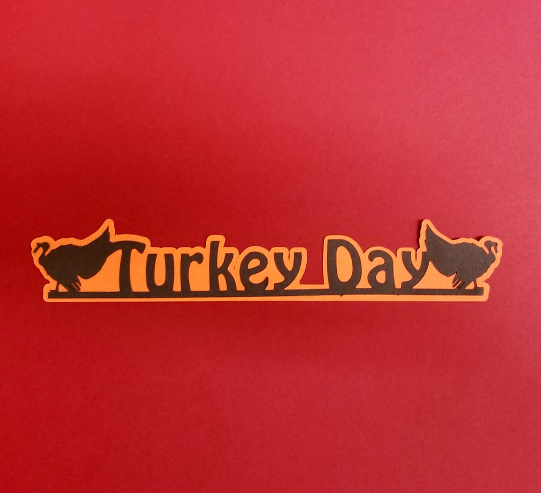 Turkey Day Die Cut