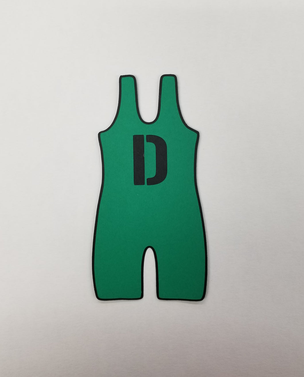 Wrestle Uniform Singlet Die Cut