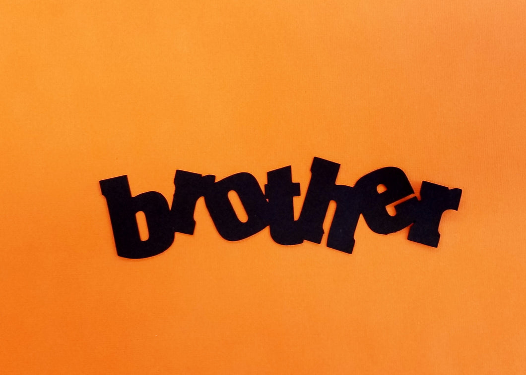 Brother Die Cut
