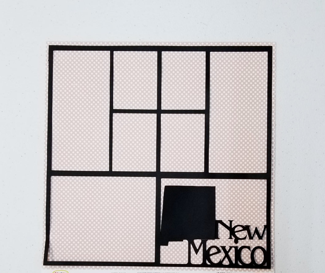 New Mexico Overlay