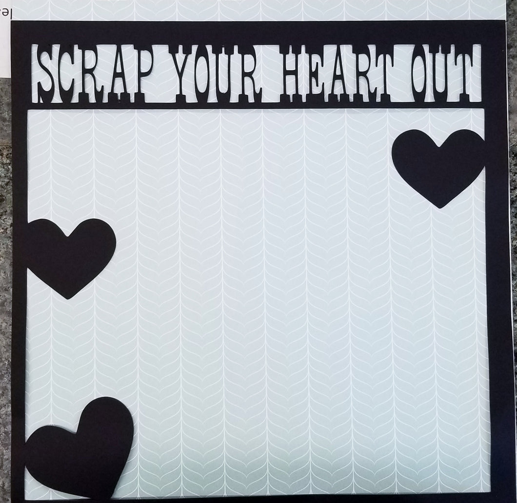 Scrap Your Heart Out Overlay