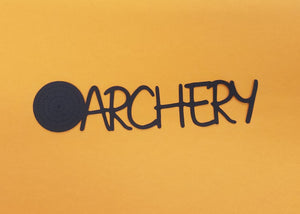 Archery Die Cut