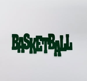 Basketball Die Cut