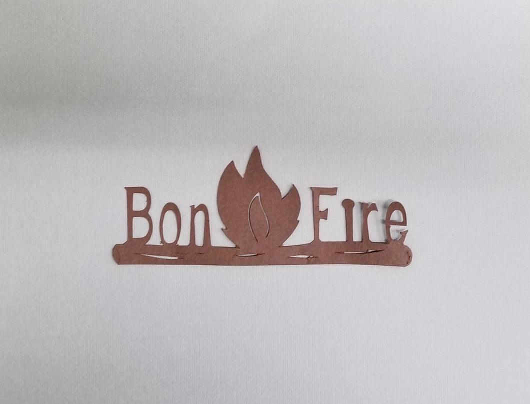 Bonfire Die Cut