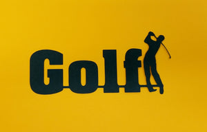 Golf Die Cut