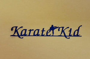 Karate Kid Die Cut