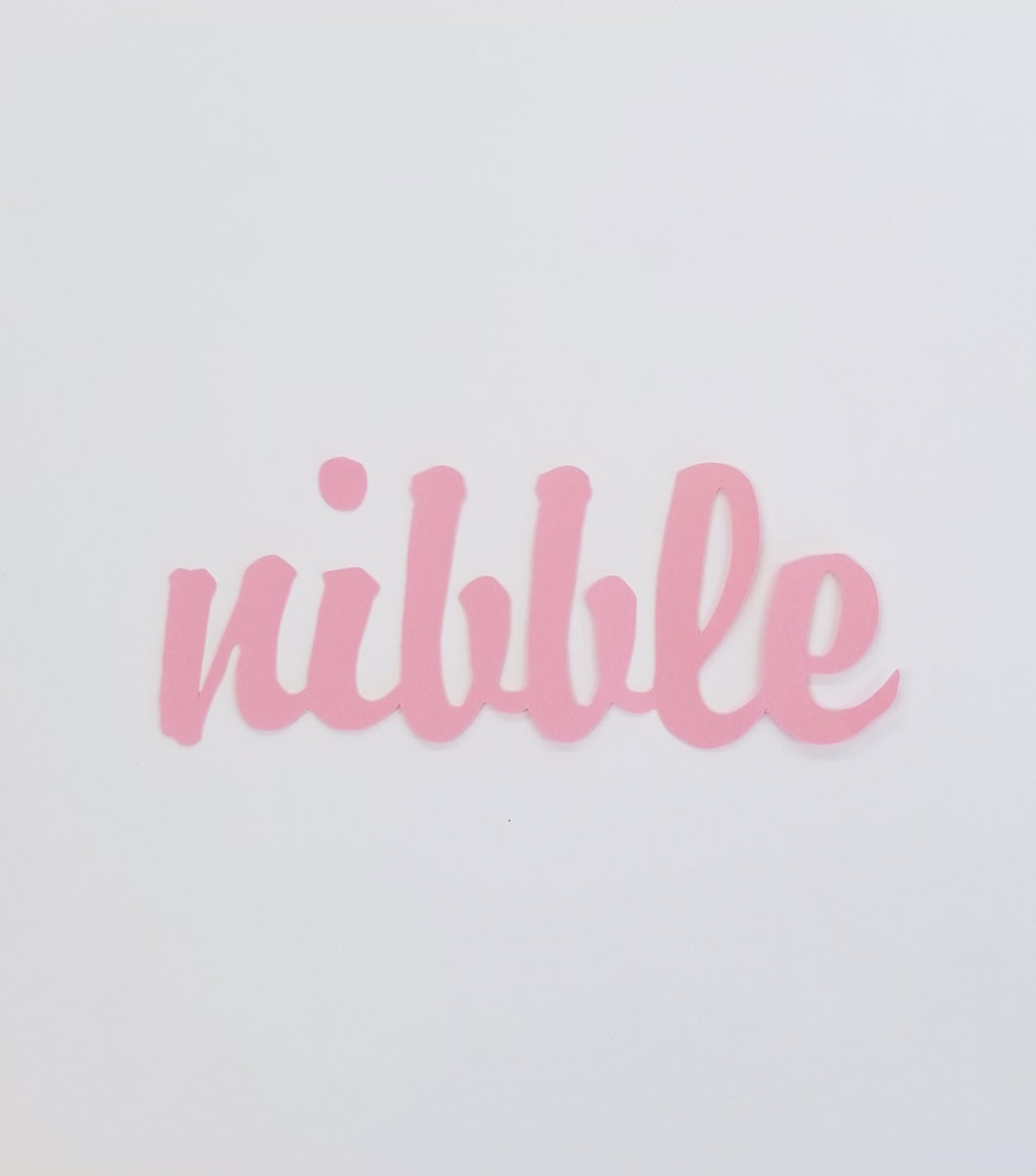 Nibble Die Cut