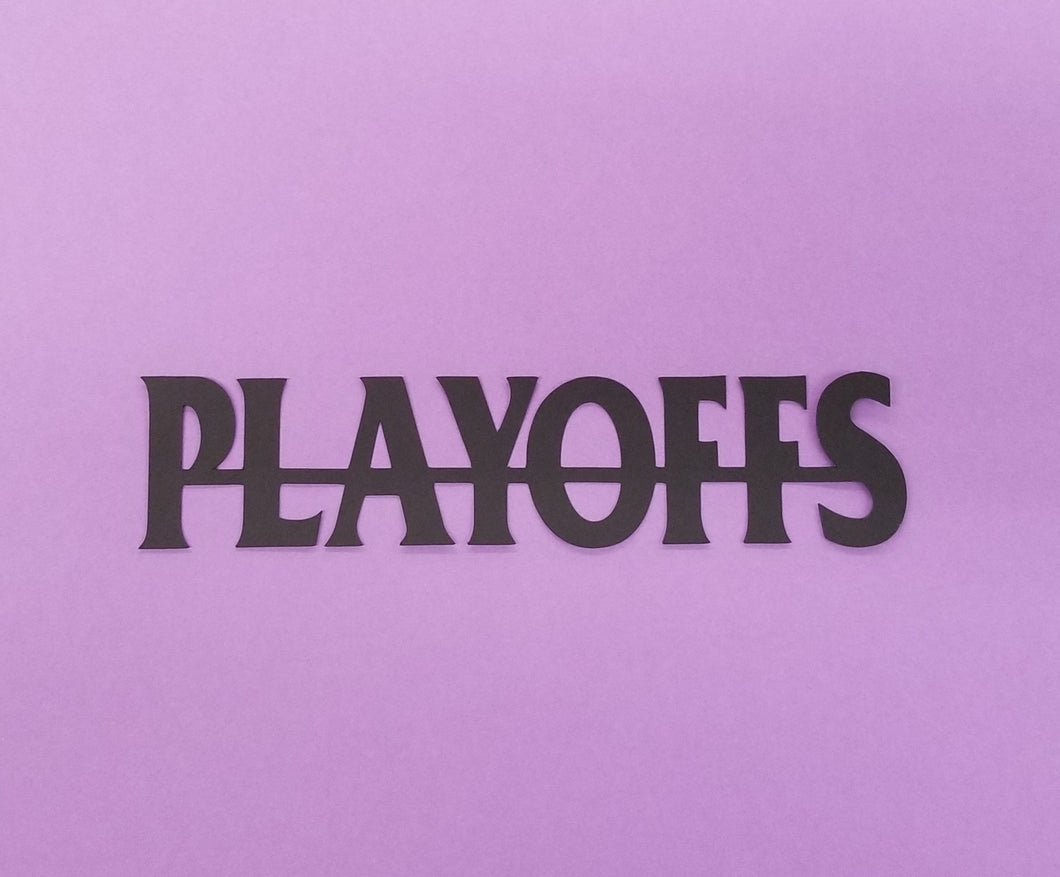 Playoffs Die Cut