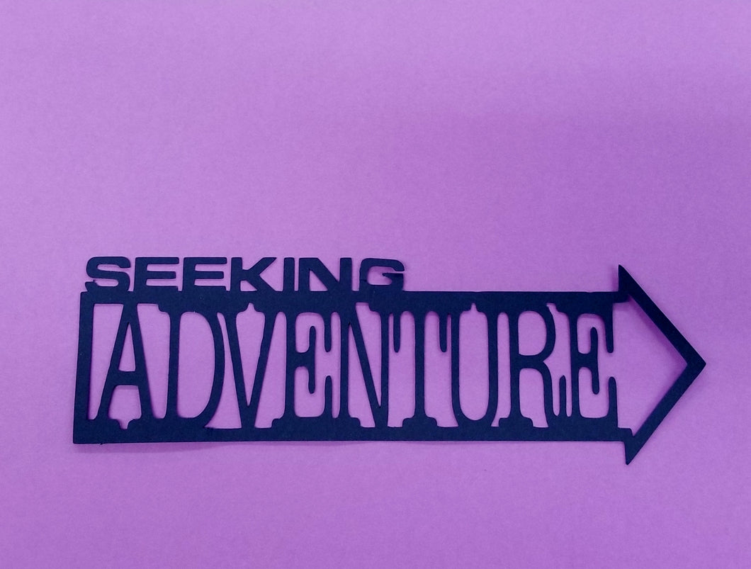 Seeking Adventure Die Cut