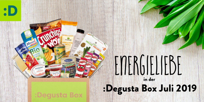 Energieliebe in der :Degusta Box #unboxing