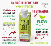 Energieliebe vegan Vitamine Guarana