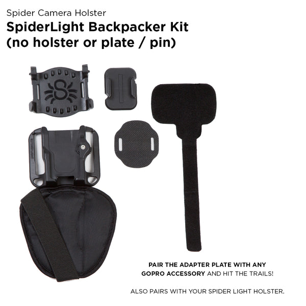 Spider Camera Holster SPIDERLIGHT BACKPACK ADAPTER ONLY