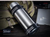 2L/3L Large Capacity Double-Wall Stainless Steel Thermos Vacuum Insulated Bottle