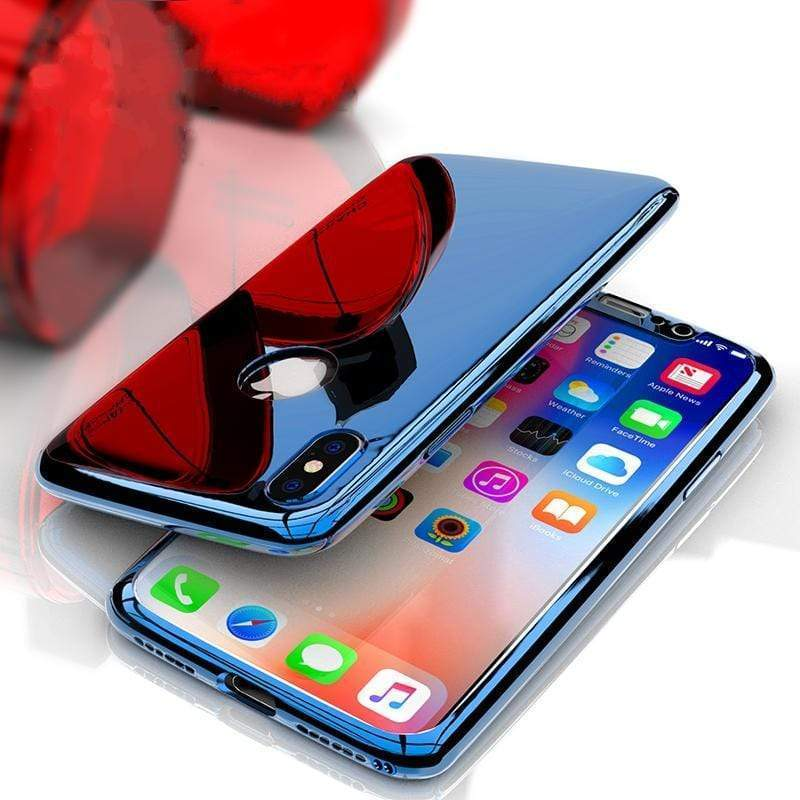 360 Degree Full Body Case Soft HD Screen Protector Film Ultralight Slim Hard Mirror For iPhone X XS XR XSMAX