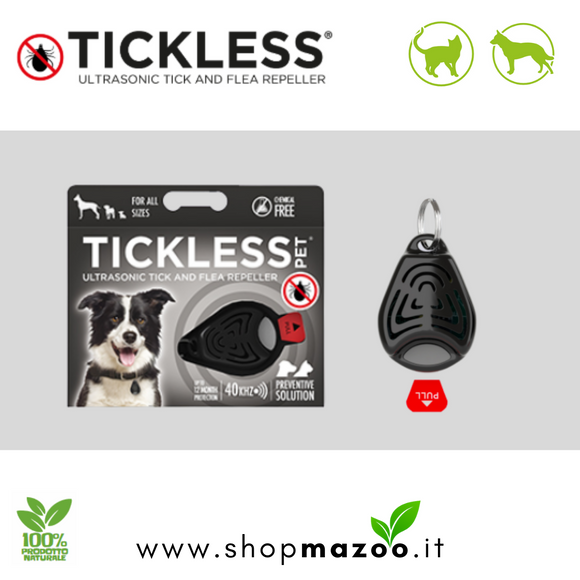 Tickless Pet - dispositivo a ultrasuoni contro le pulci e le zecche