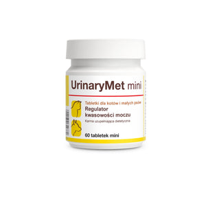 "UrinaryMet mini 60 "".... acidificante delle urine, a base di metionina.."""