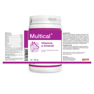"Multical 500 "".. vitamine e minerali per il cane adulto ... """