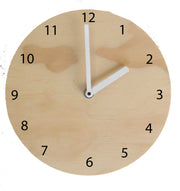 WOODEN WALL CLOCK big