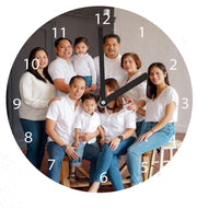 WOODEN WALL CLOCK 14.1 CM