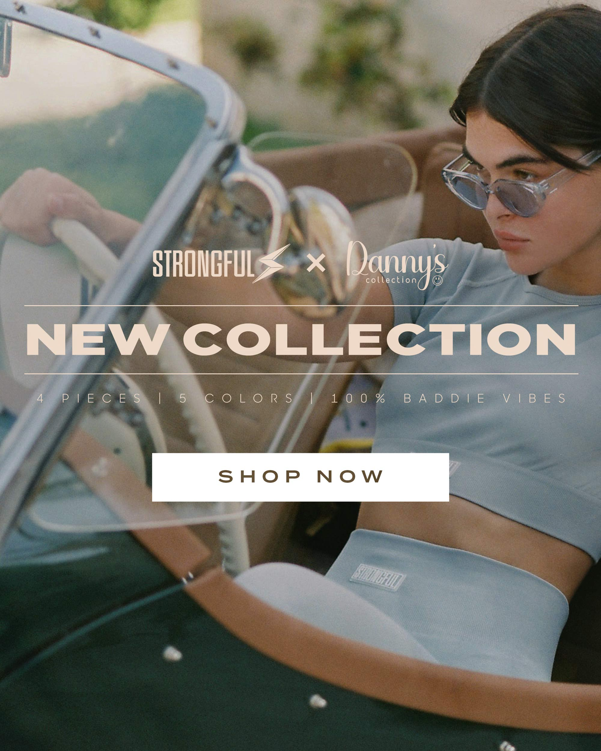 Strongful X Daniella New Featured Collection Banner