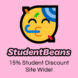 To access our student discount, log in with Student Beans.