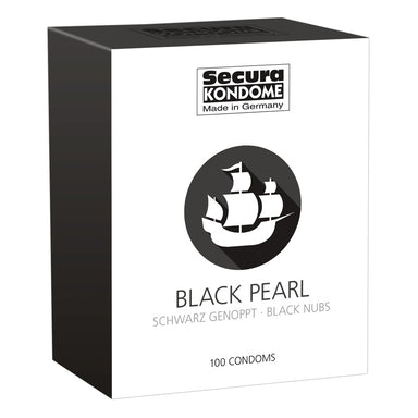 Secura Kondome Black Pearl x100 Condoms - Coy Store Limited