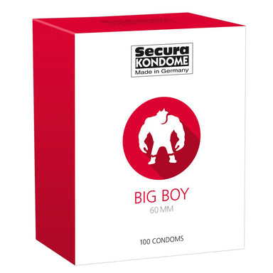 Secura Kondome Big Boy 60MM x100 Condoms - Coy Store Limited