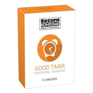 Secura Kondome Good Timer Delay x3 Condoms - Coy Store Limited