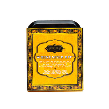 Kama Sutra Weekender Kit In A Tin Coconut Pineapple - Coy Store Limited