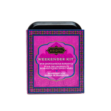 Kama Sutra Weekender Kit In A Tin Raspberry Kiss - Coy Store Limited