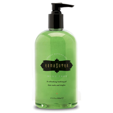 Kama Sutra Luxury Bathing Gel Mint Tree 500ml - Coy Store Limited