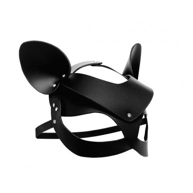 Master Series Bad Kitten Leather Cat Mask - Coy Store Limited
