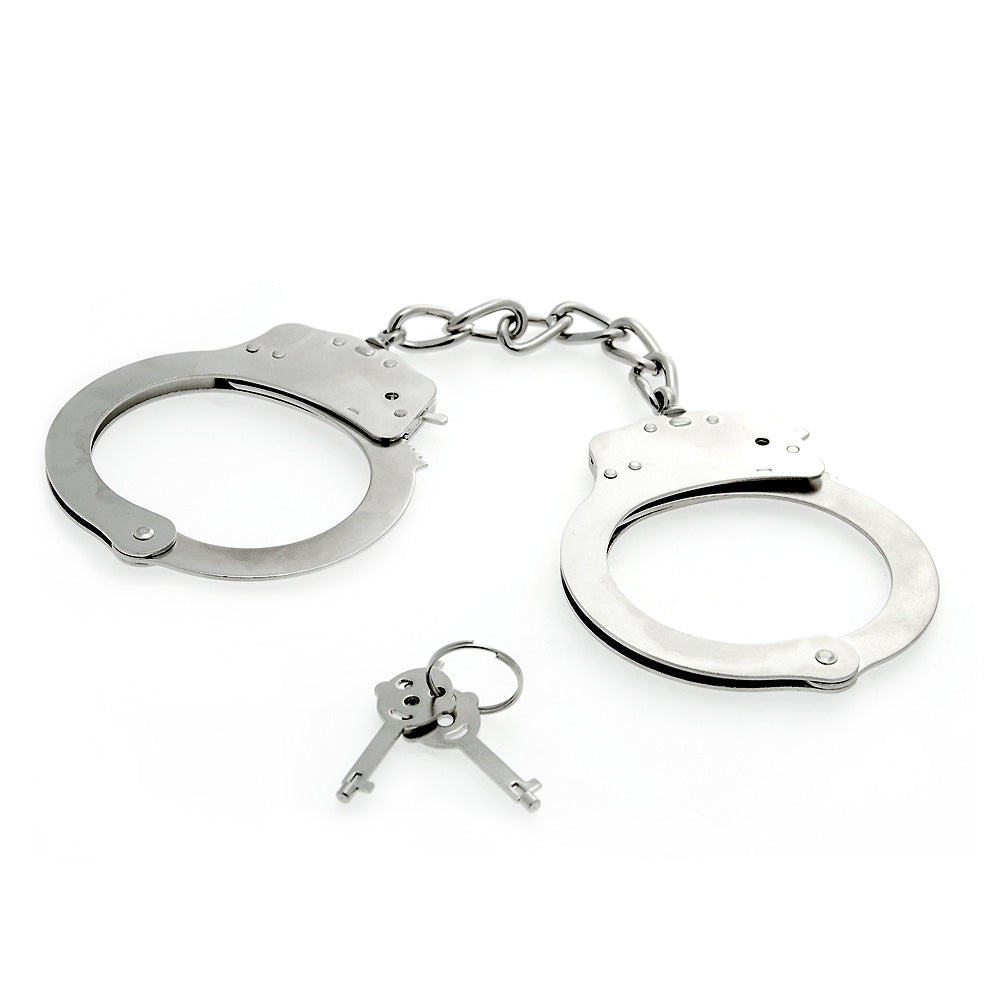 Deluxe Metal Handcuffs - The Coy Store