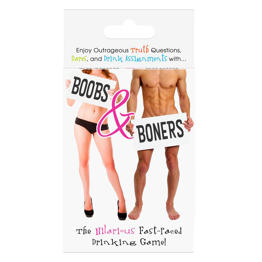 Boobs And Boners Drinking Card Game - The Coy Store