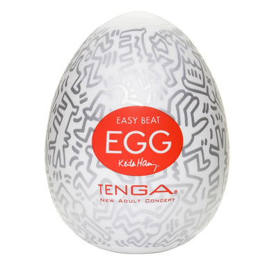 Tenga Keith Haring Party Egg Masturbator - Coy Store Limited
