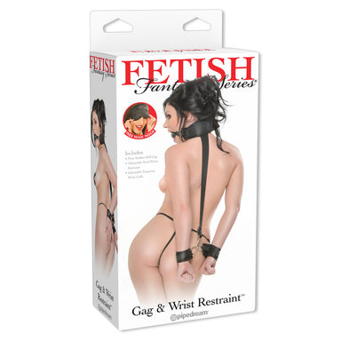 Fetish Fantasy Series  Gag And Wrist Restraint - Coy Store Limited