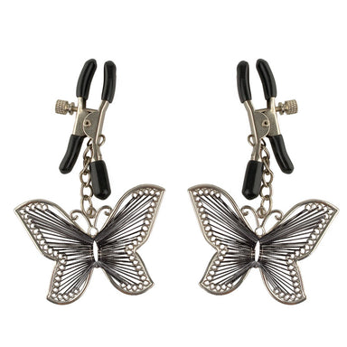 Fetish Fantasy Series  Butterfly Nipple Clamps - Coy Store Limited