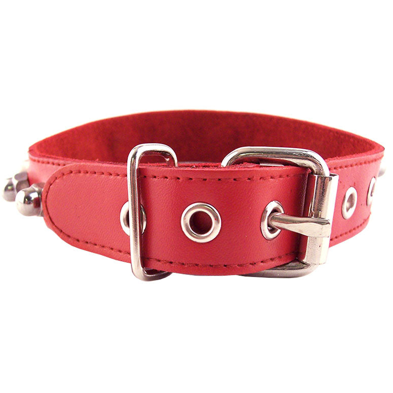 Rouge Garments Red Nut Collar - The Coy Store