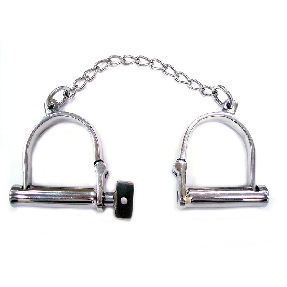 Rouge Stainless Steel Wrist Shackles - Coy Store Limited